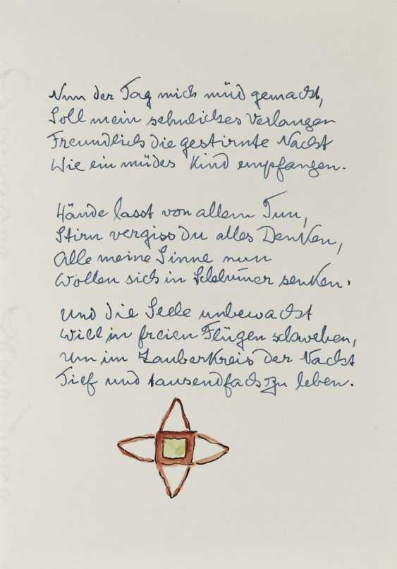 Hermann Hesse, Twelve Poems by Hermann Hesse. 1961 - photo 5