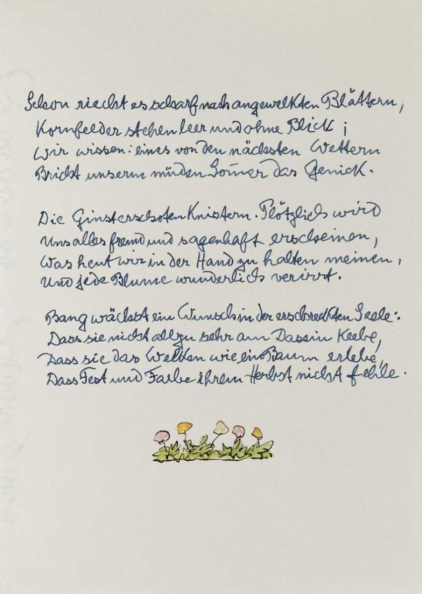 Hermann Hesse, Twelve Poems by Hermann Hesse. 1961 - photo 7