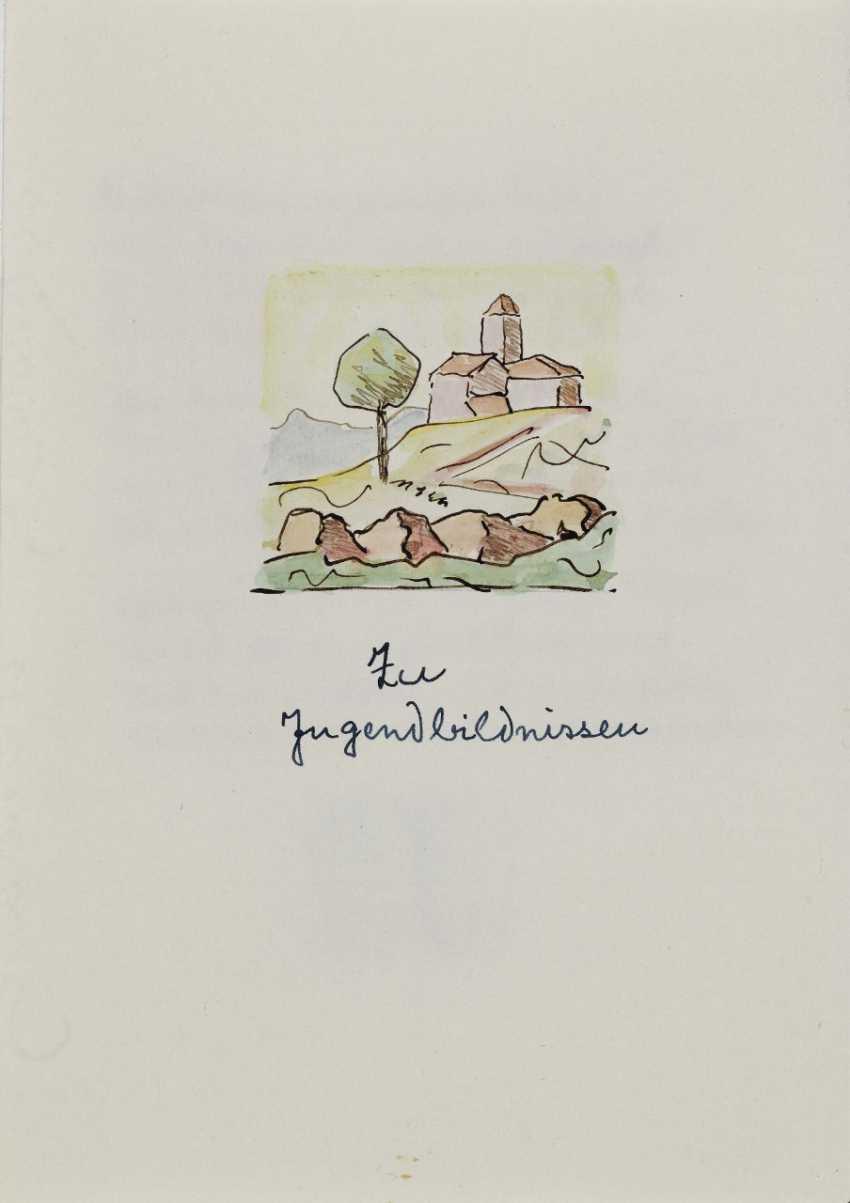 Hermann Hesse, Twelve Poems by Hermann Hesse. 1961 - photo 8