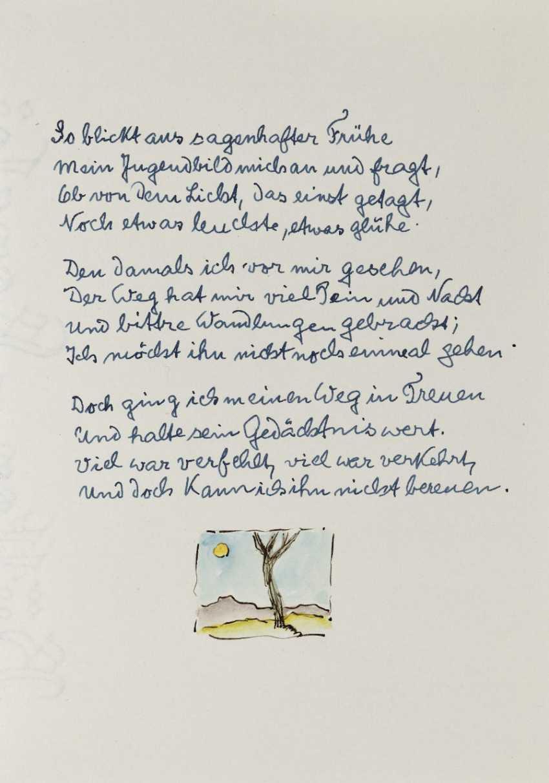 Hermann Hesse, Twelve Poems by Hermann Hesse. 1961 - photo 9
