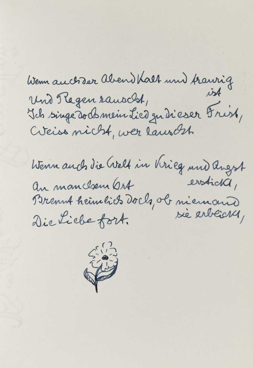 Hermann Hesse, Twelve Poems by Hermann Hesse. 1961 - photo 11