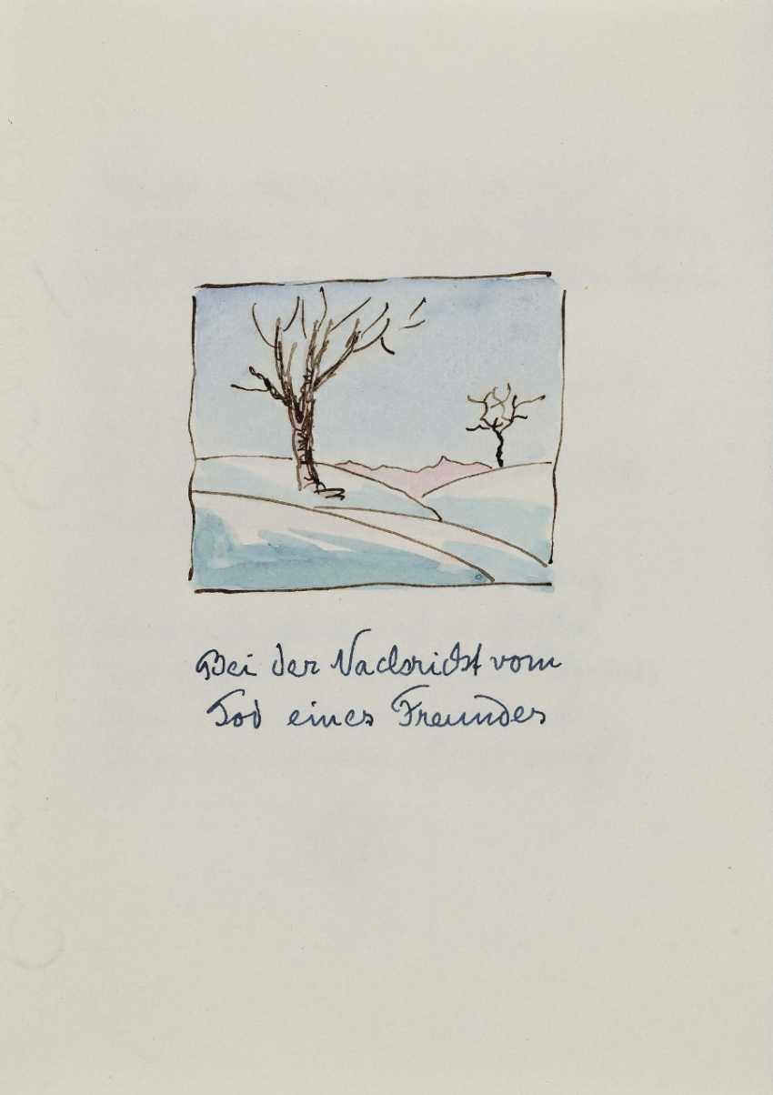 Hermann Hesse, Twelve Poems by Hermann Hesse. 1961 - photo 12