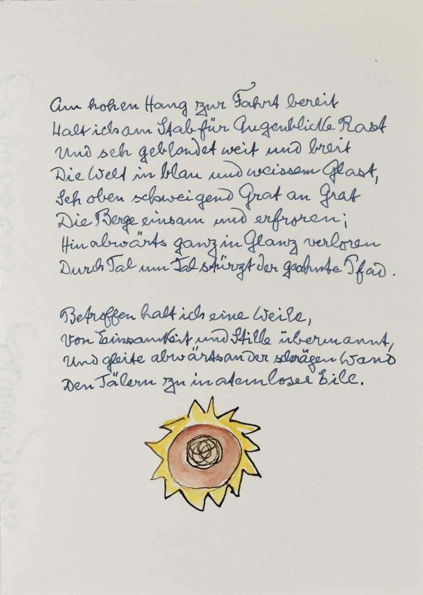 Hermann Hesse, Twelve Poems by Hermann Hesse. 1961 - photo 13