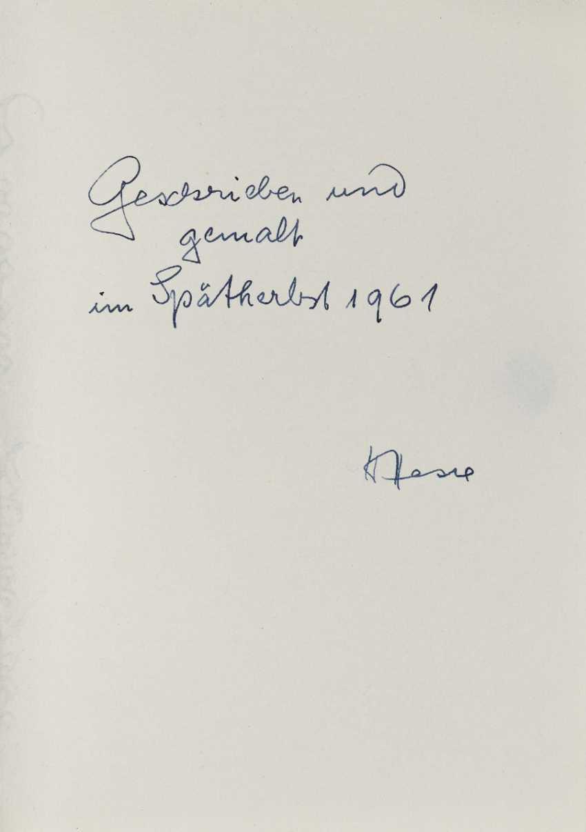 Hermann Hesse, Twelve Poems by Hermann Hesse. 1961 - photo 15
