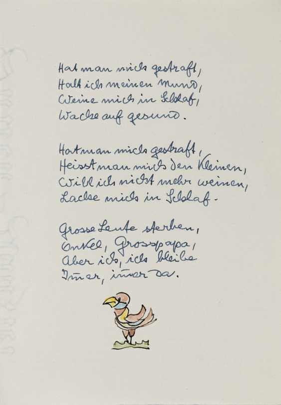 Hermann Hesse, Twelve Poems by Hermann Hesse. 1961 - photo 17