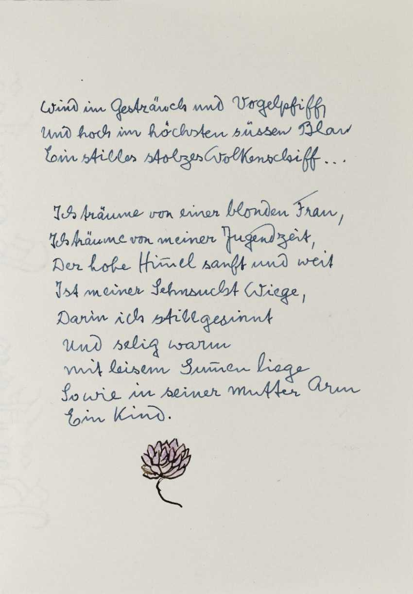 Hermann Hesse, Twelve Poems by Hermann Hesse. 1961 - photo 19