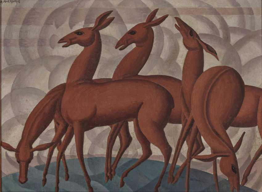 Arnold Auerbach, Five Deer. - photo 3