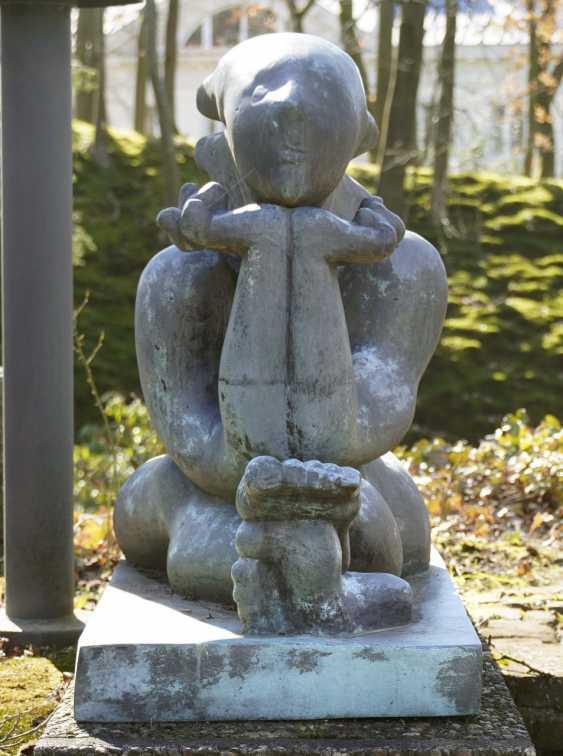 Joseph Csaky, Meditation / La Sphinge. 1984 Based on the design from 1946/47. - photo 2