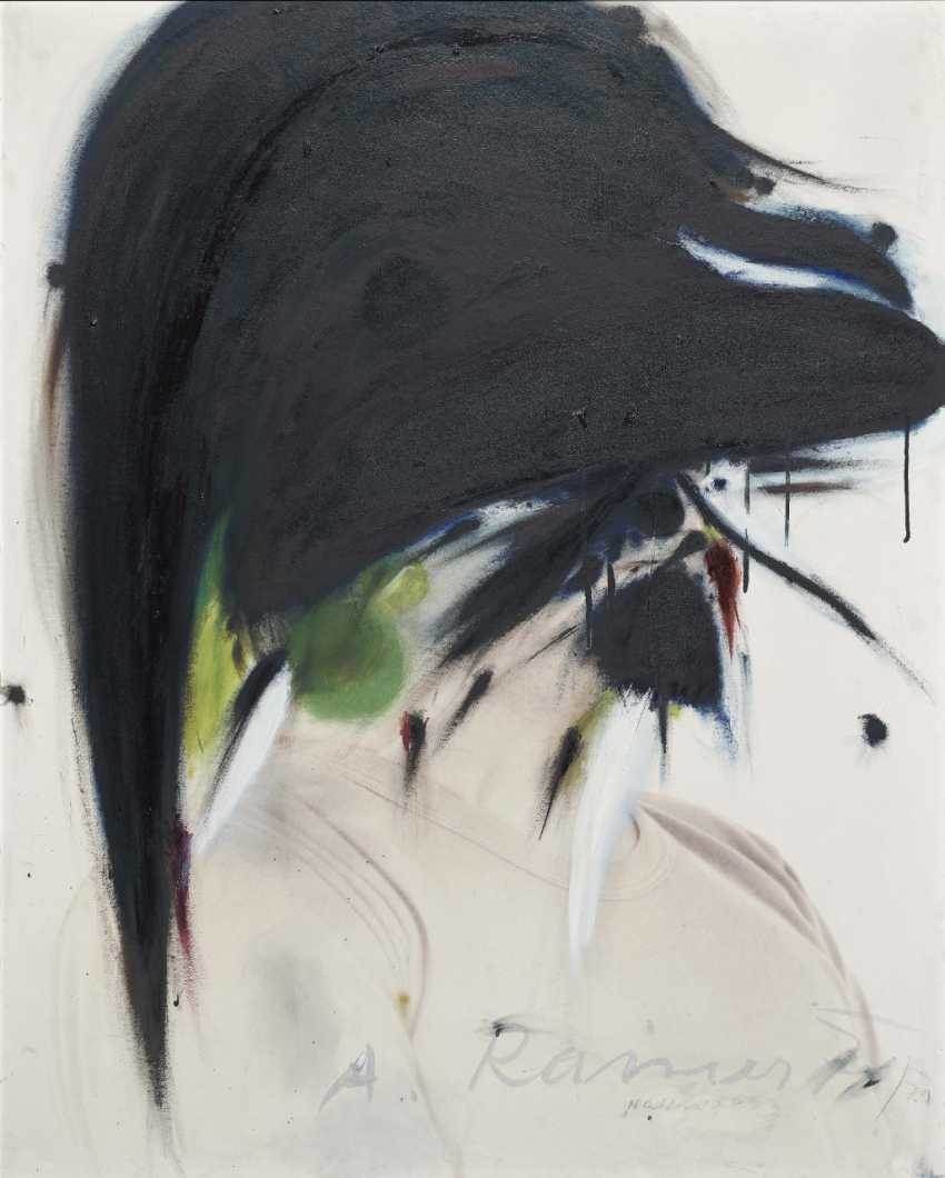Arnulf Rainer, nightingale. 1970/71 - photo 1