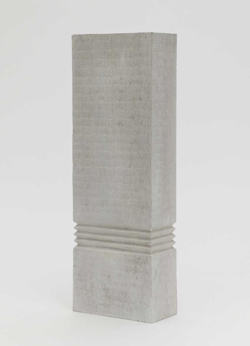 Leo Erb, OT (wooden stele with partly horizontal structure). (19) 87 - photo 1