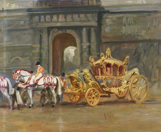 Sir Alfred James Munnings, P.R.A., R.W.S. (British, 1878-1959) - photo 1