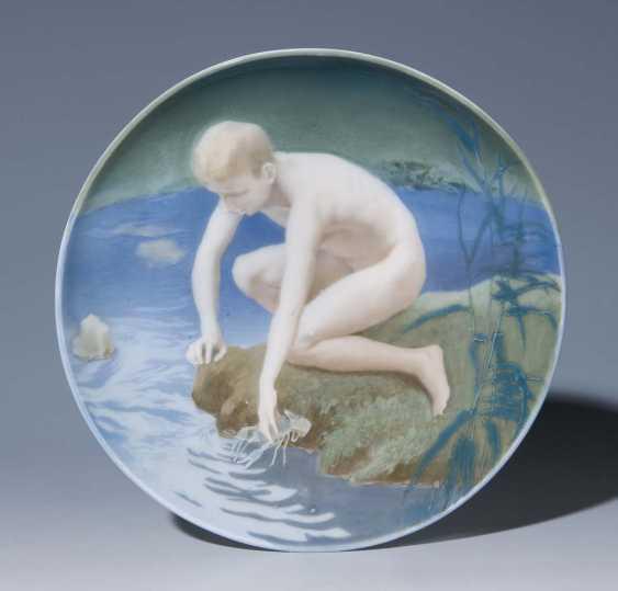 Art Nouveau Bowl. - photo 1