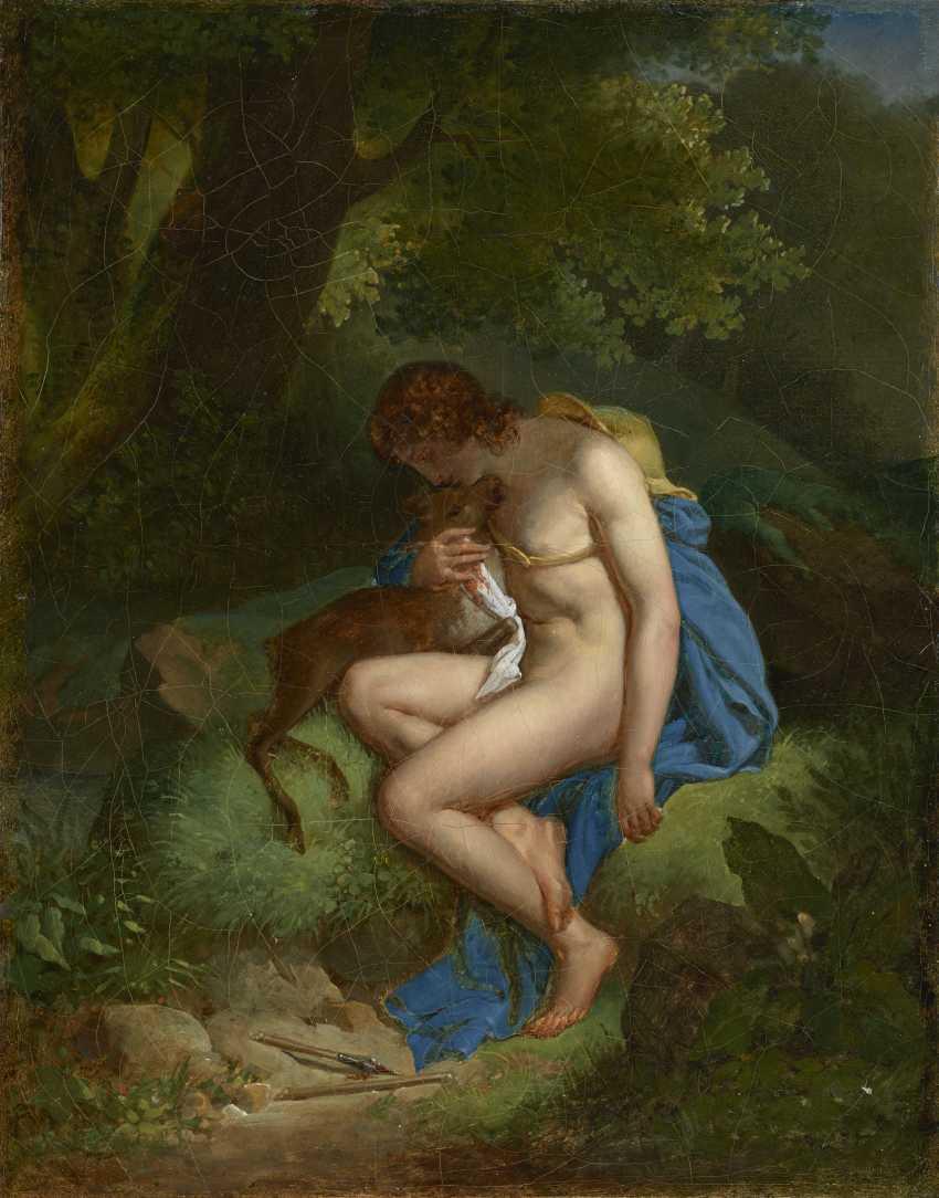 AUGUSTE ALPHONSE GAUDAR DE LA VERDINE (BOURGES 1780-1804 SIENA) - photo 2