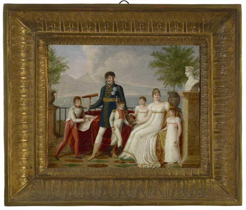 GUILLAUME DÉSIRÉ JOSEPH DESCAMPS (LILLE 1779-1858 PARIS) - photo 1