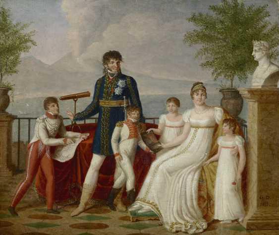 GUILLAUME DÉSIRÉ JOSEPH DESCAMPS (LILLE 1779-1858 PARIS) - photo 2