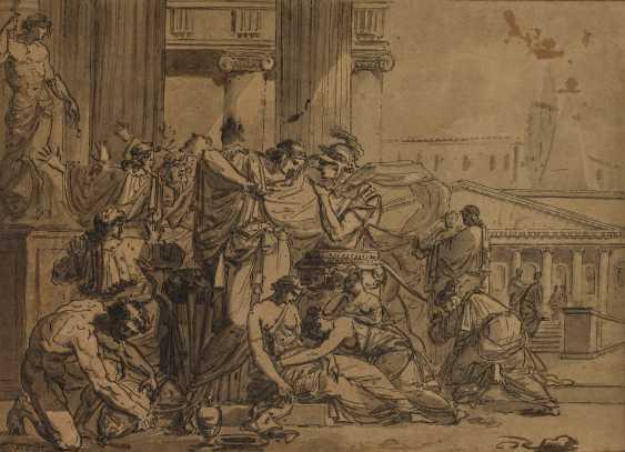 GUILLAUME GUILLON-LETHIÈRE (Sainte-Anne, Guadeloupe 1760-1832 Paris) - photo 1