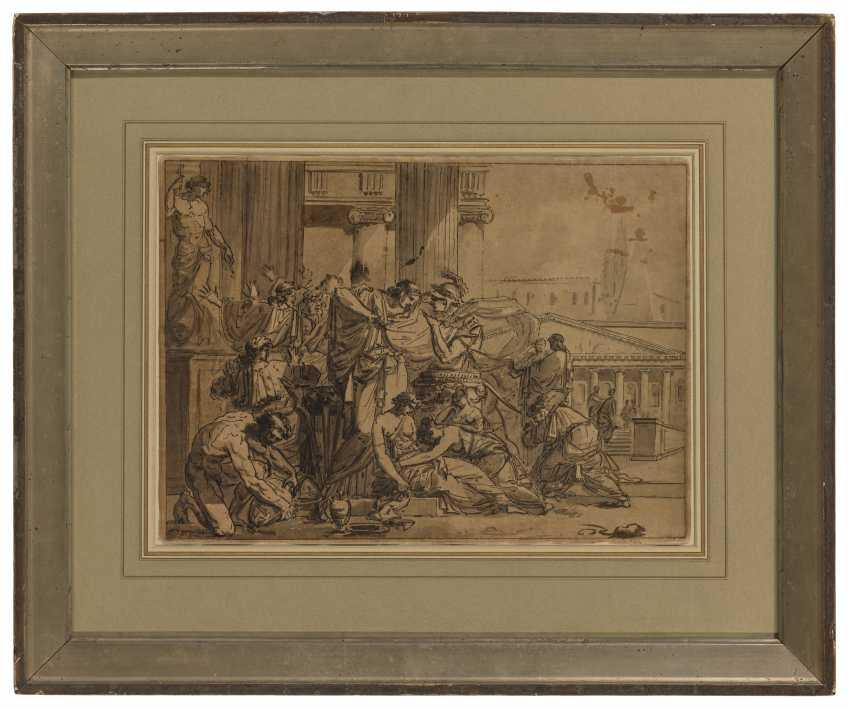 GUILLAUME GUILLON-LETHIÈRE (Sainte-Anne, Guadeloupe 1760-1832 Paris) - photo 2