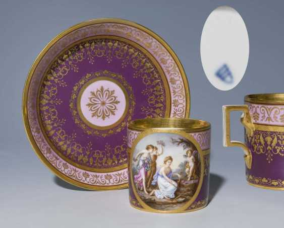 Image, Cup, Saucer - photo 1