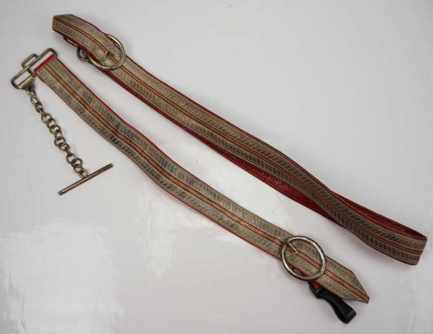 Baden: saber hangings for officers. - photo 1