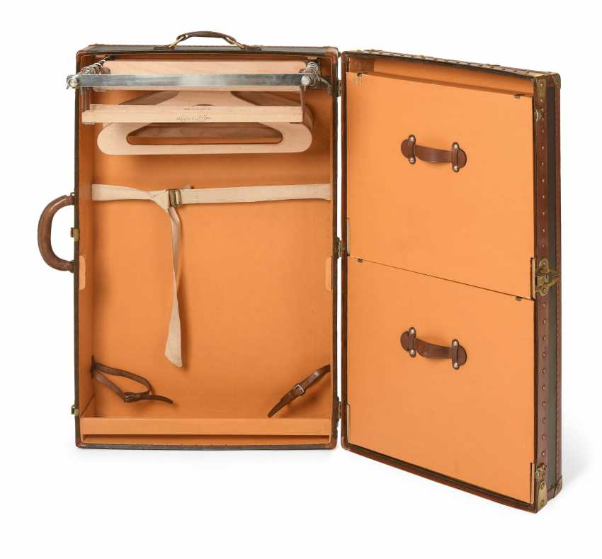 Lot 4158 Louis Vuitton Suitcase Wardrobe From The