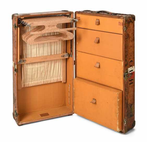Louis Vuitton Suitcase Wardrobe Auction Catalog