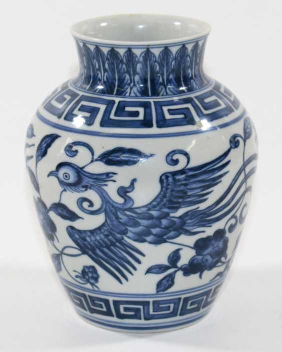 China vase with phoenix - photo 1