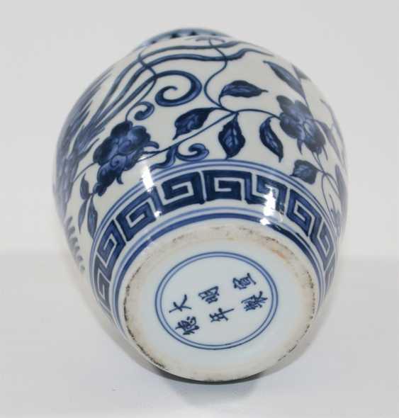 China vase with phoenix - photo 2