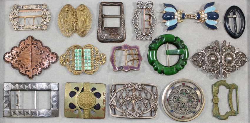Belt buckles, shoe buckles - photo 2