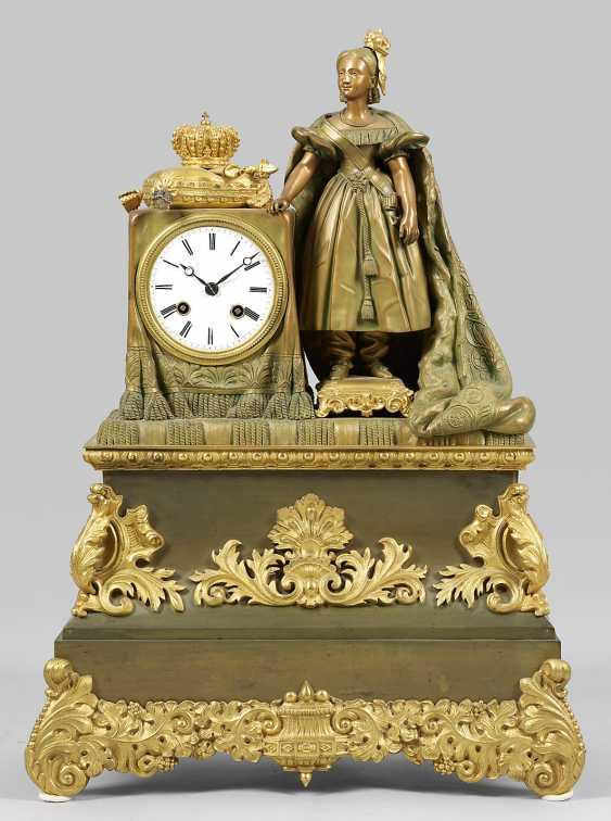 Large Louis Philippe-Figure Pendule - photo 1