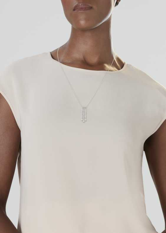 TIFFANY & CO. DIAMOND 'JAZZ' PENDANT NECKLACE - photo 2