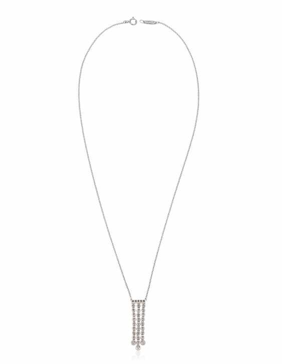 TIFFANY & CO. DIAMOND 'JAZZ' PENDANT NECKLACE - photo 4