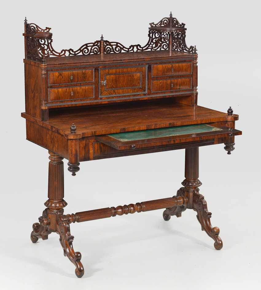 Late Biedermeier Ladies ' Desk - photo 1