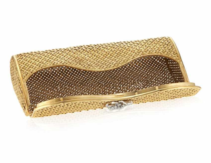 DIAMOND AND GOLD EVENING BAG - photo 4