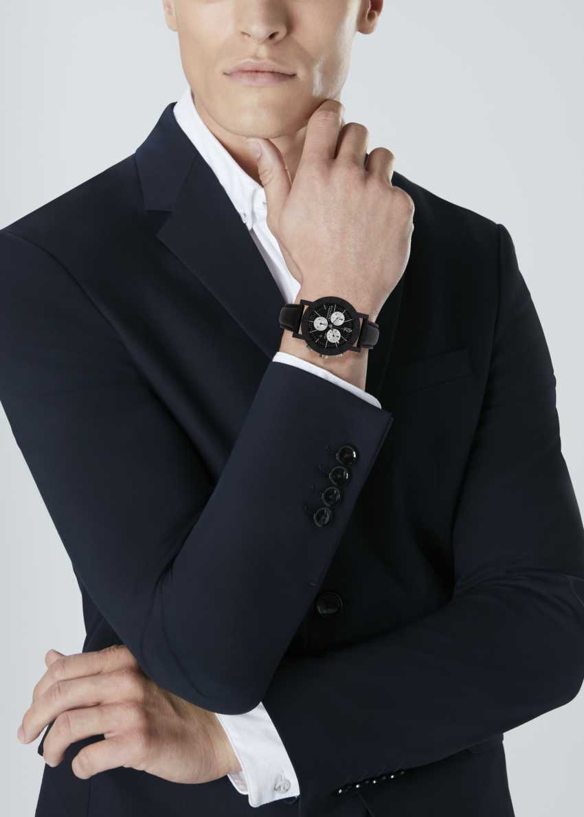 SET OF BULGARI 'CARBONGOLD' WATCHES - photo 2