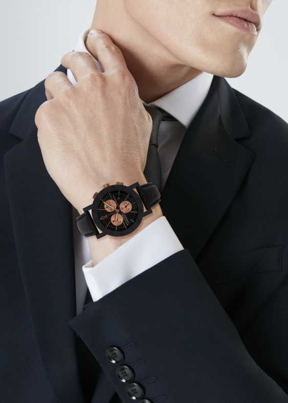 SET OF BULGARI 'CARBONGOLD' WATCHES - photo 4
