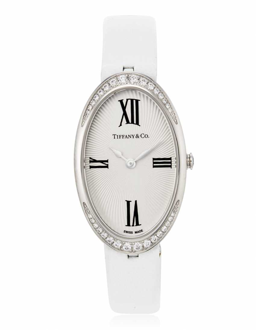 TIFFANY & CO. DIAMOND WRISTWATCH - photo 1