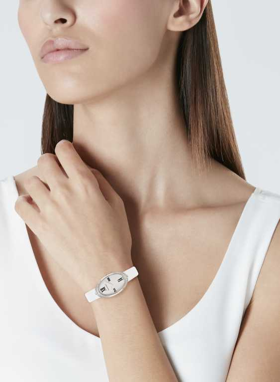 TIFFANY & CO. DIAMOND WRISTWATCH - photo 2