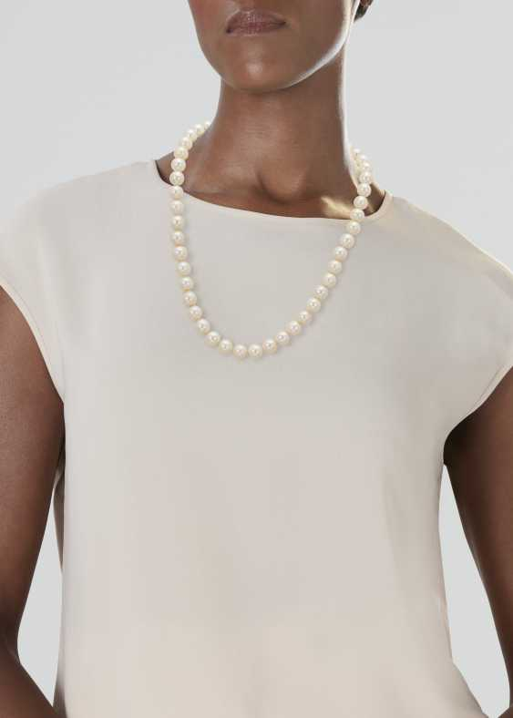 CULTURED PEARL NECKLACE - photo 2
