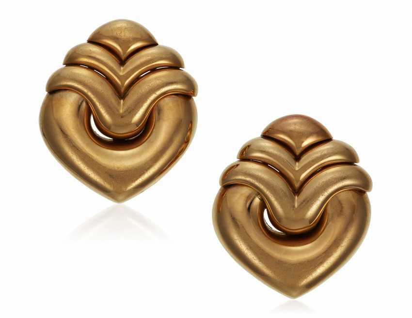 BULGARI GOLD EARRINGS - photo 1