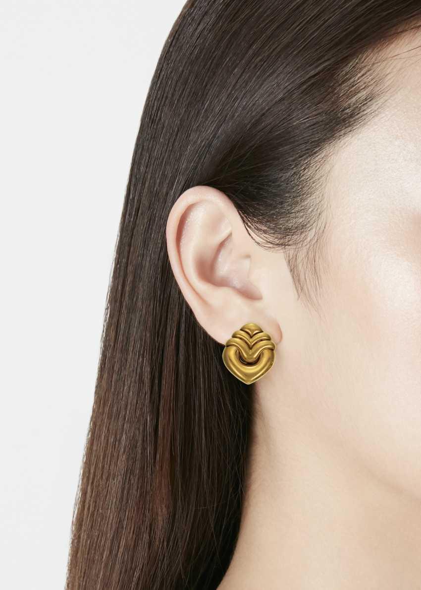 BULGARI GOLD EARRINGS - photo 2