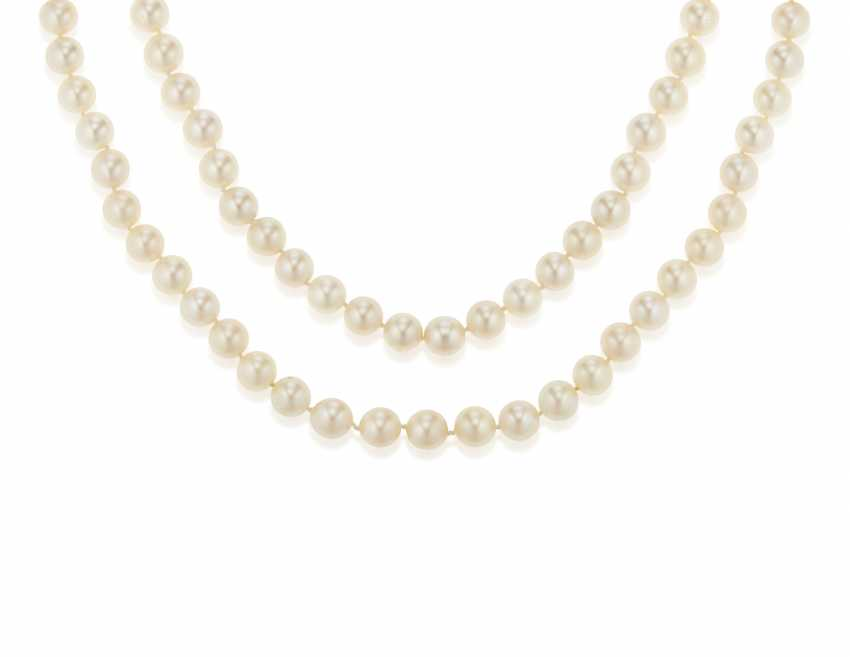CULTURED PEARL NECKLACE - photo 1