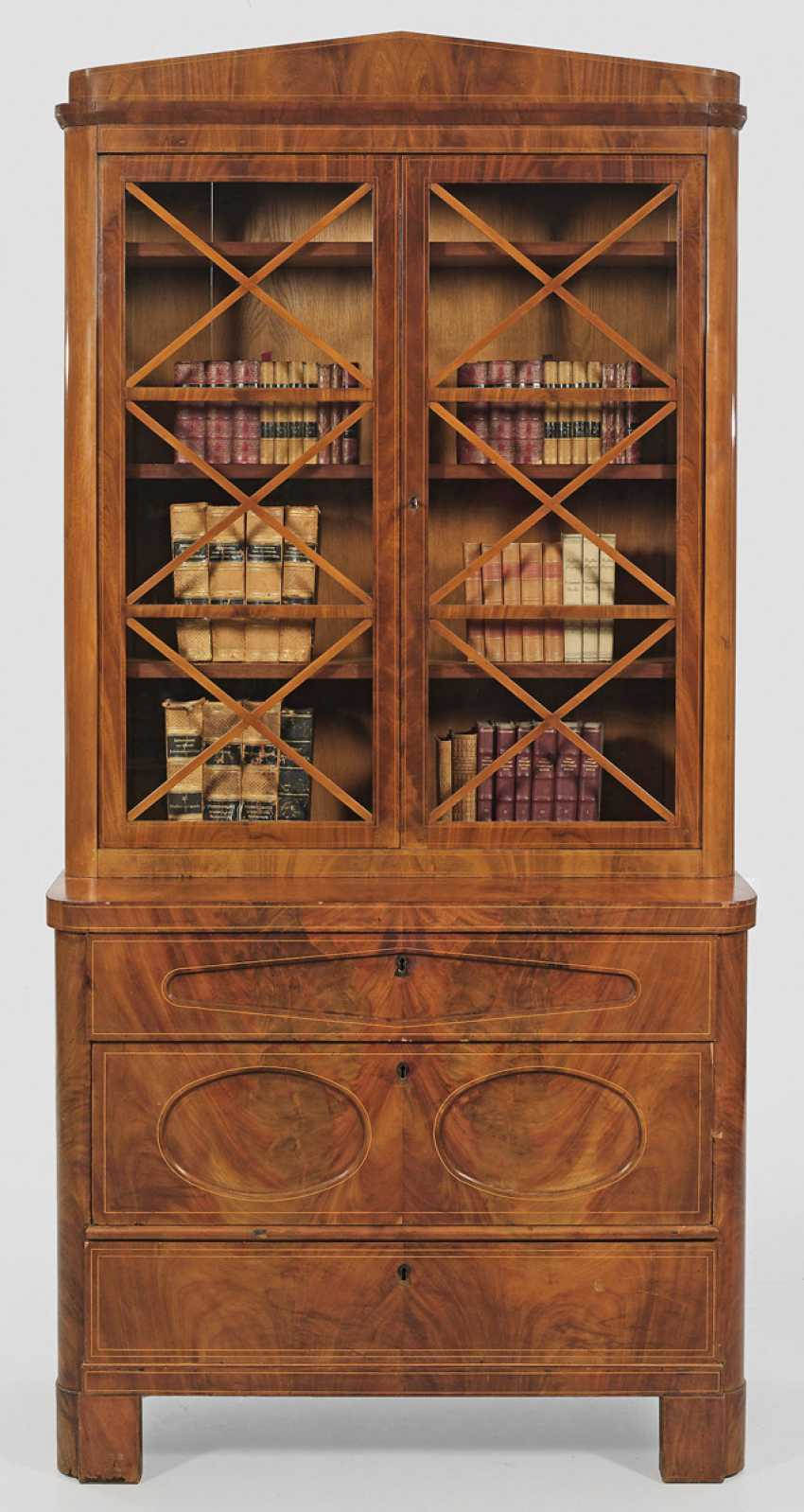 Biedermeier Display Cabinets-Top Chest Of Drawers - photo 1