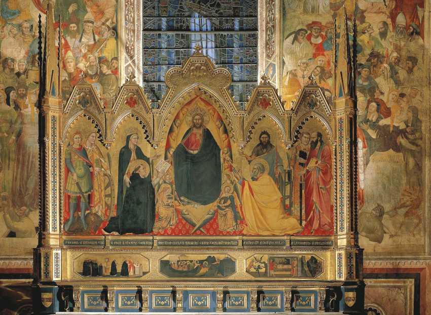 ATTRIBUTED TO BERNARDO DADDI (ACTIVE FLORENCE, C. 1320-1348) - photo 3