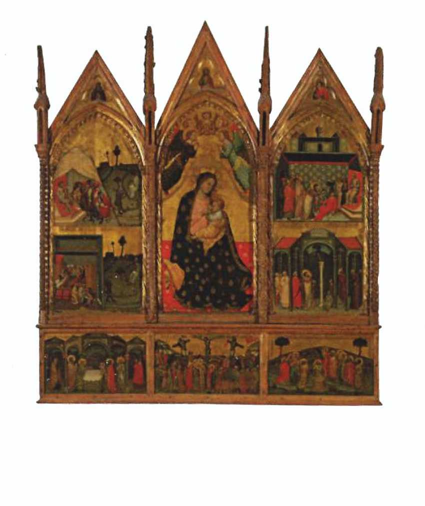 MASTER OF THE SAN BARTOLOMEO TRIPTYCH (ACTIVE URBINO, END OF THE 14TH CENTURY AND EARLY 15TH CENTURY) - photo 3