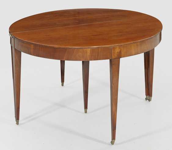 Large Biedermeier Extending Table - photo 1