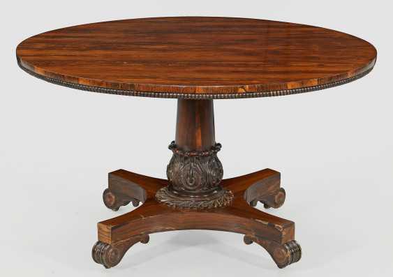 A Large Regency-Salon Table - photo 1