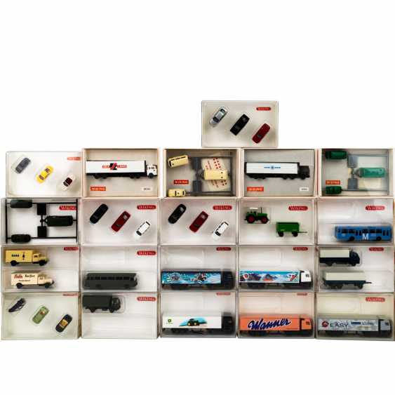 WIKING mixed lot of 30 vehicles and sets in the scale 1: 160, - photo 2