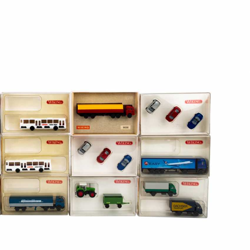 WIKING mixed lot of 30 vehicles and sets in the scale 1: 160, - photo 3