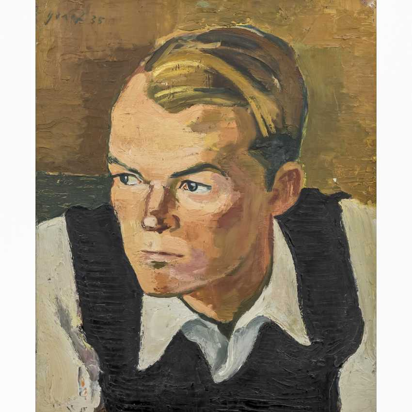 "GRAEF, ERNST (1909-1985) ""Portrait of a Young Man"" - photo 1"