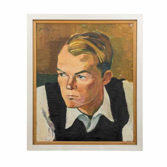"GRAEF, ERNST (1909-1985) ""Portrait of a Young Man"" - photo 2"